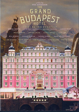 The grand Budapest hotel  /  Wes Anderson