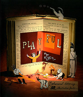 PLAYFUL TYPE: EPHEMERAL LETTERING & ILLUSTRATIVE FONTS
