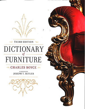 DICTIONARY OF FURNITURE: THIRD EDITION