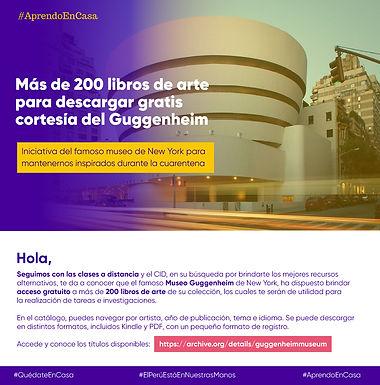 MÁS DE 200 LIBROS DE ARTE PARA DESCARGAR GRATIS CORTESÍA DEL GUGGENHEIM