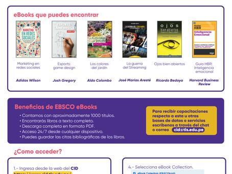 CONTAMOS CON CASI 1000 LIBROS DIGITALES EN NUESTRA COLECCIÓN DE EBSCO EBOOKS