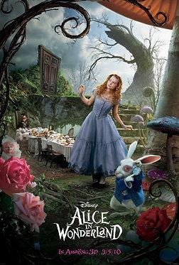 Alicia en el país de las maravillas  /  Tim Burton