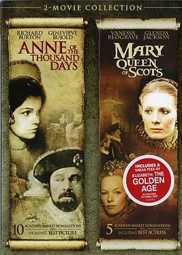 Anne of the thousand days, Mary queen of Scots  /  Charles Jarrott