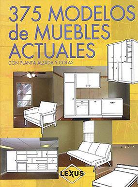 375 MODELOS DE MUEBLES ACTUALES CON PLANTA ALZADA Y COTAS