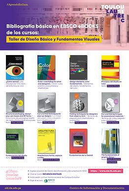 BIBLIOGRAFÍA BÁSICA DE DISEÑO BÁSICO Y FUNDAMENTOS VISUALES EN EBSCO EBOOKS