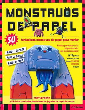 MONSTRUOS DE PAPEL: 50 FANTÁSTICOS MONSTRUOS DE PAPEL PARA MONTAR