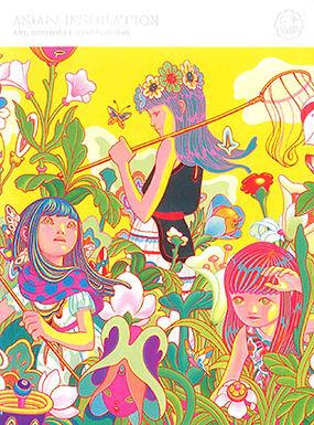 ASIAN INSPIRATION: ART, GRAPHICS AND ILLUSTRATIONS