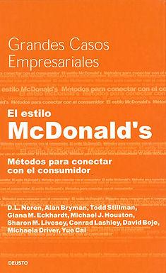 EL ESTILO MCDONALD'S: MÉTODOS PARA CONECTAR CON EL CONSUMIDOR