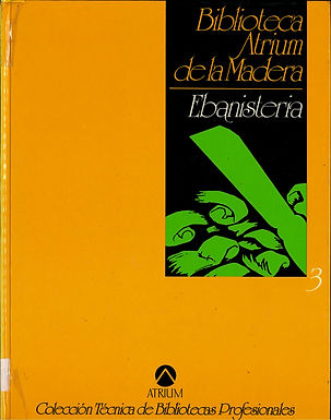 BIBLIOTECA ATRIUM DE LA MADERA: EBANISTERÍA