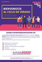 BIENVENIDOS AL CICLO VERANO 21-0