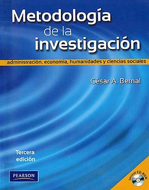 METODOLOGÍA DE LA INVESTIGACIÓN : ADMINISTRACIÓN, ECONOMÍA, HUMANIDADES Y CIENCIAS SOCIALES