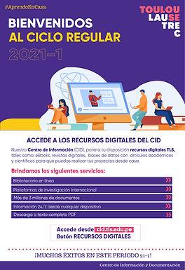 BIENVENIDOS AL CICLO REGULAR 21-1