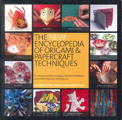 THE NEW ENCYCLOPEDIA OF ORIGAMI & PAPERCRAFT TECHNIQUES