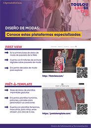 DISEÑO DE MODAS: CONOCE ESTAS PLATAFORMAS ESPECIALIZADAS