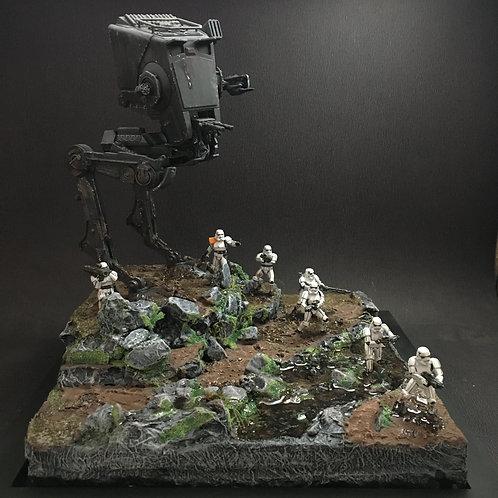 Diorama Star Wars - A caçada