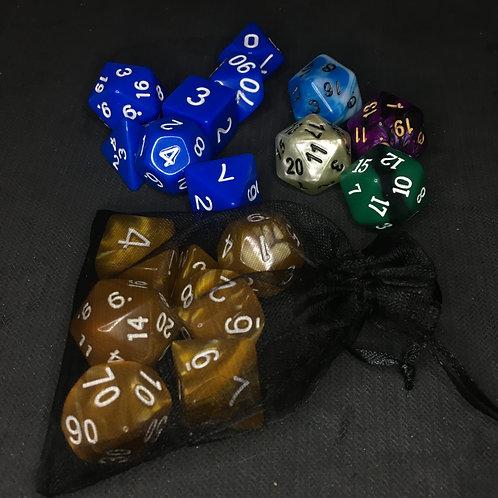 Dados RPG e D20 avulso