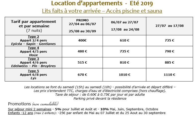 tarif_été_2019_chalet_des_granges_samoen