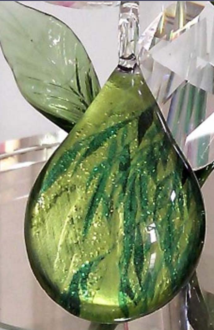 Hand blown Glass Pendant-98