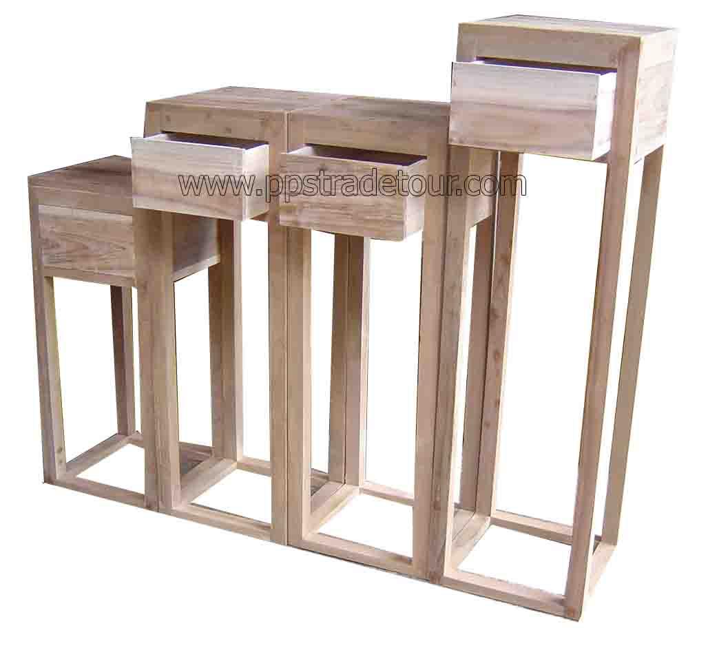 Teak Shelf-table-1