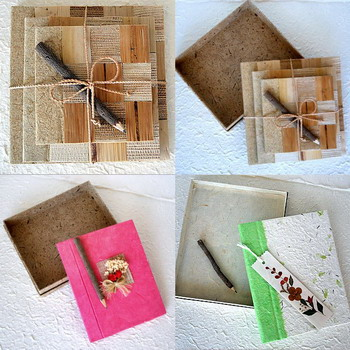 Mulberry Paper Note Book