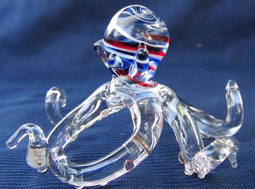 blown glass- Octopus