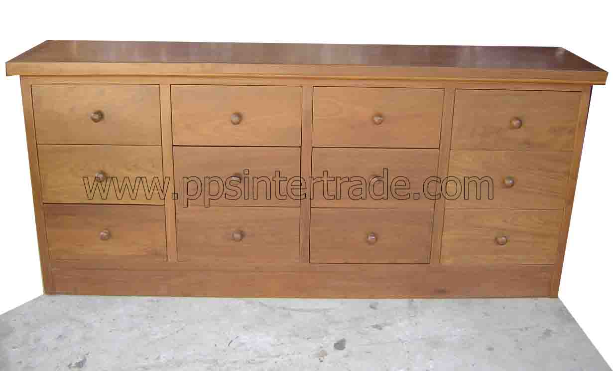 PS-Wood drawer cabinet-sn392