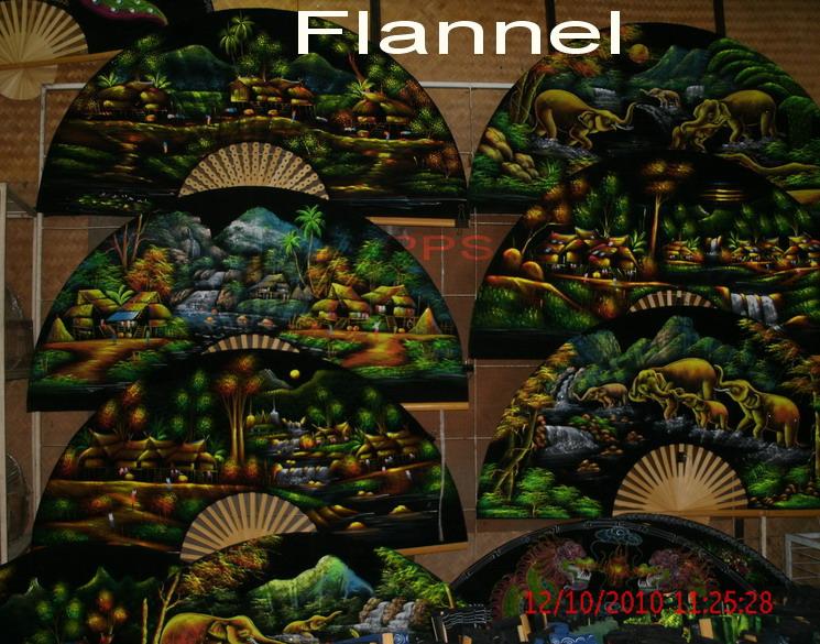 PPS-Hand Flannel Fan Paint-9