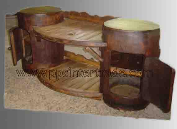 PS-Wood Shelf (sn357)