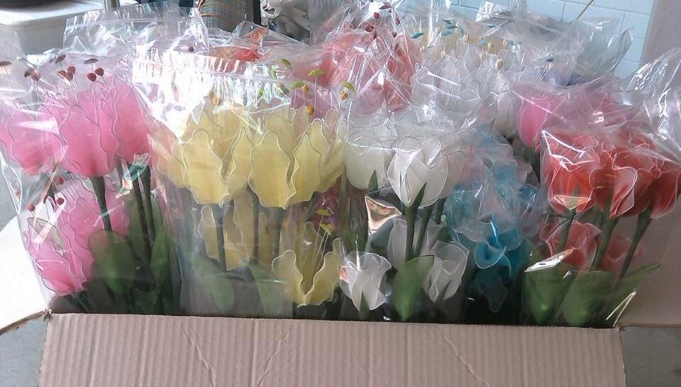 Flower lights packaging