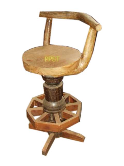 Antique stool-sn046