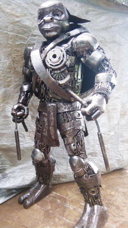 Recycle Metal Robot-31