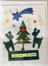 Mulberry Paper Christmas Card-6