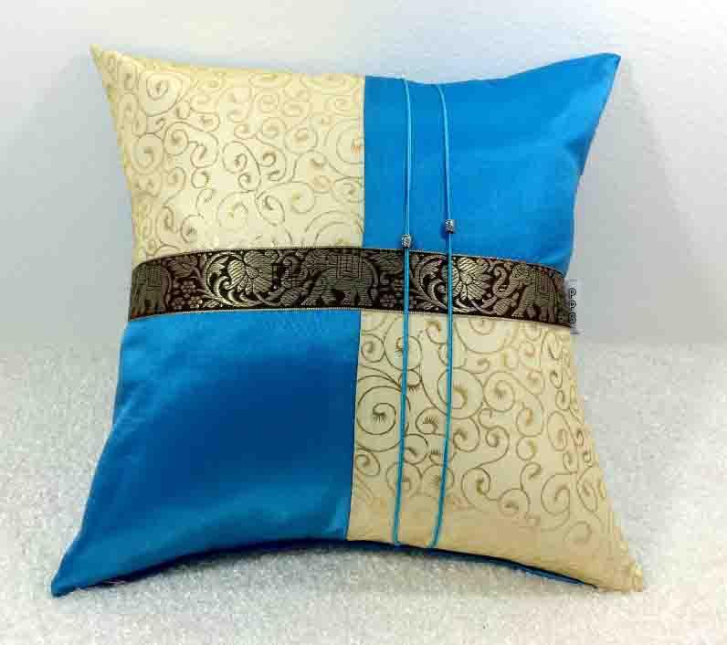 Silk cushion Pillow Case-272