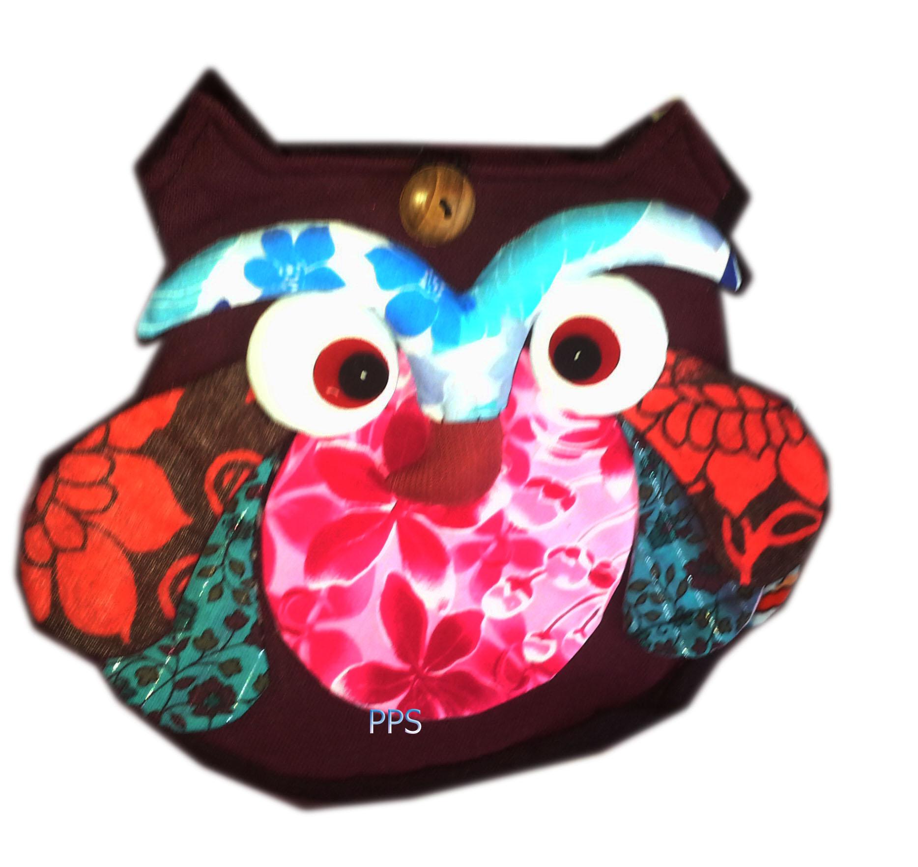 Cotton Owl bag 18