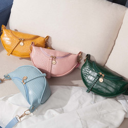 G025 fashion saddle bag 2020 womens leather handbag women vintage handbags with texture