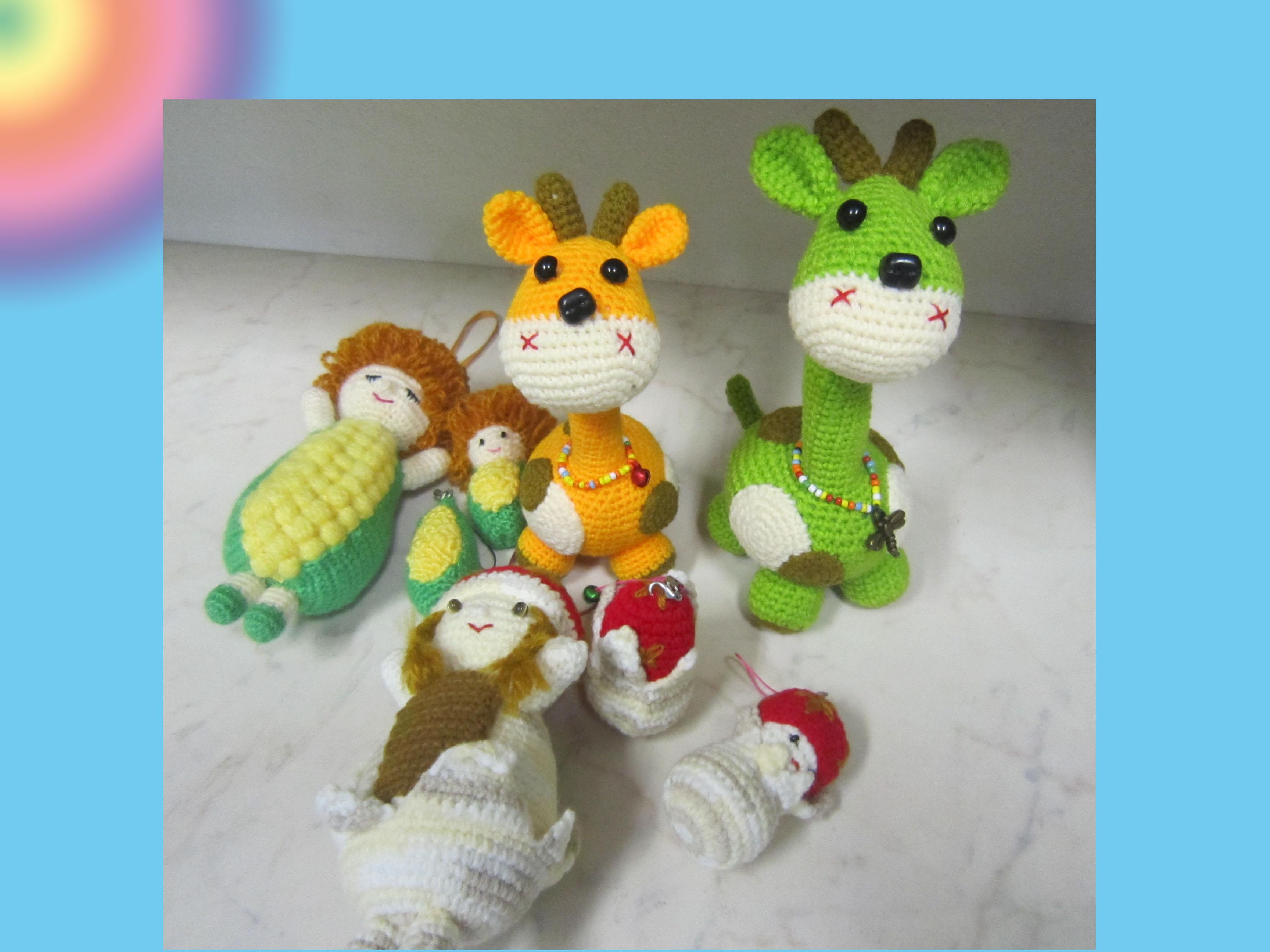 Crochet Doll Keyring-IMG_3567