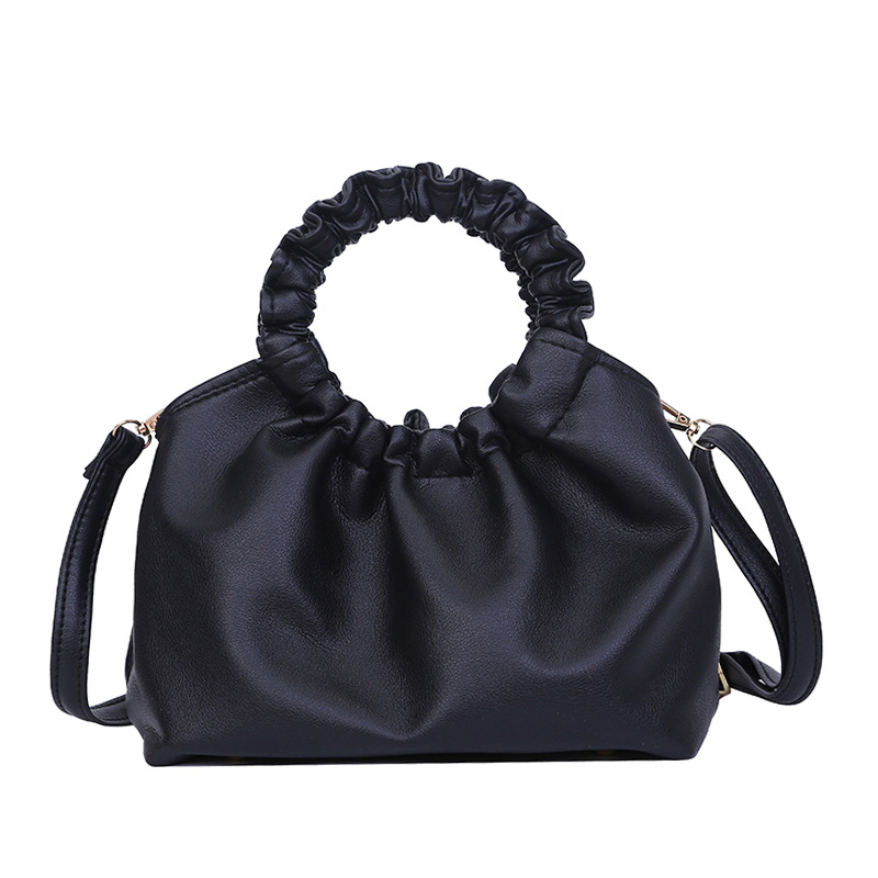 Sandro 2020 Women Hand Bags Cloud-shaped Handbags With Korean Style