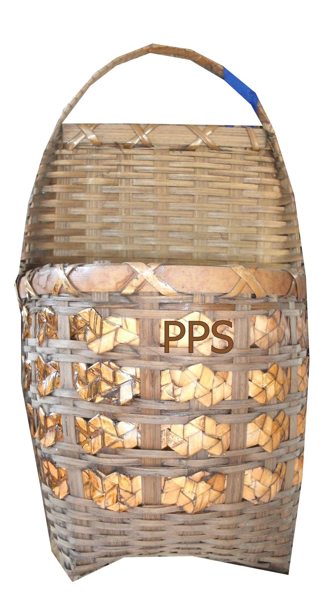 Bamboo Basket 4545