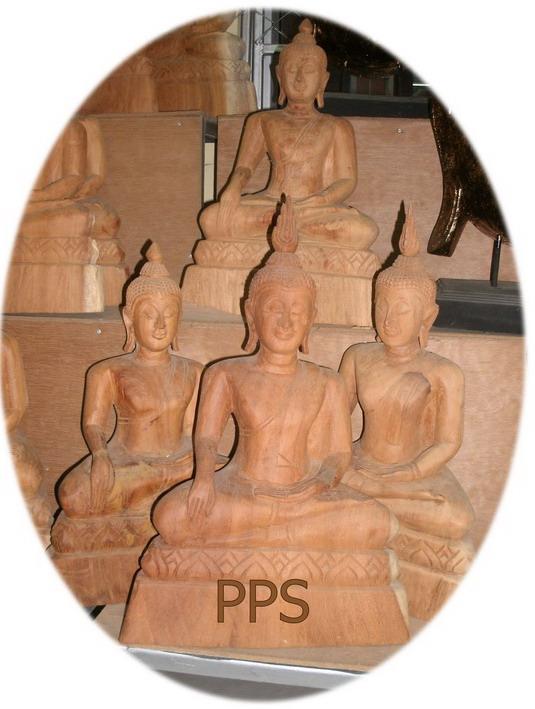 Wood Buddha Image-18