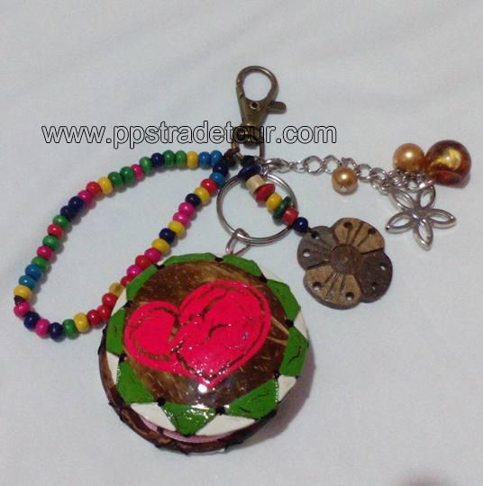 Coconut Shell Coin Purse-KR10