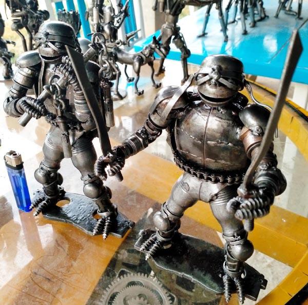 Recycle Metal Robot-19