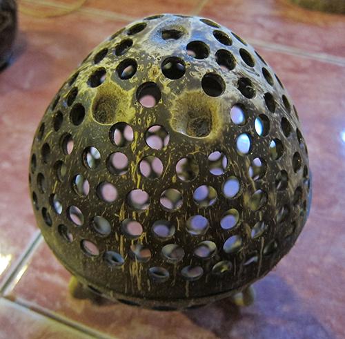 Coconut Shell Scent Burner-6