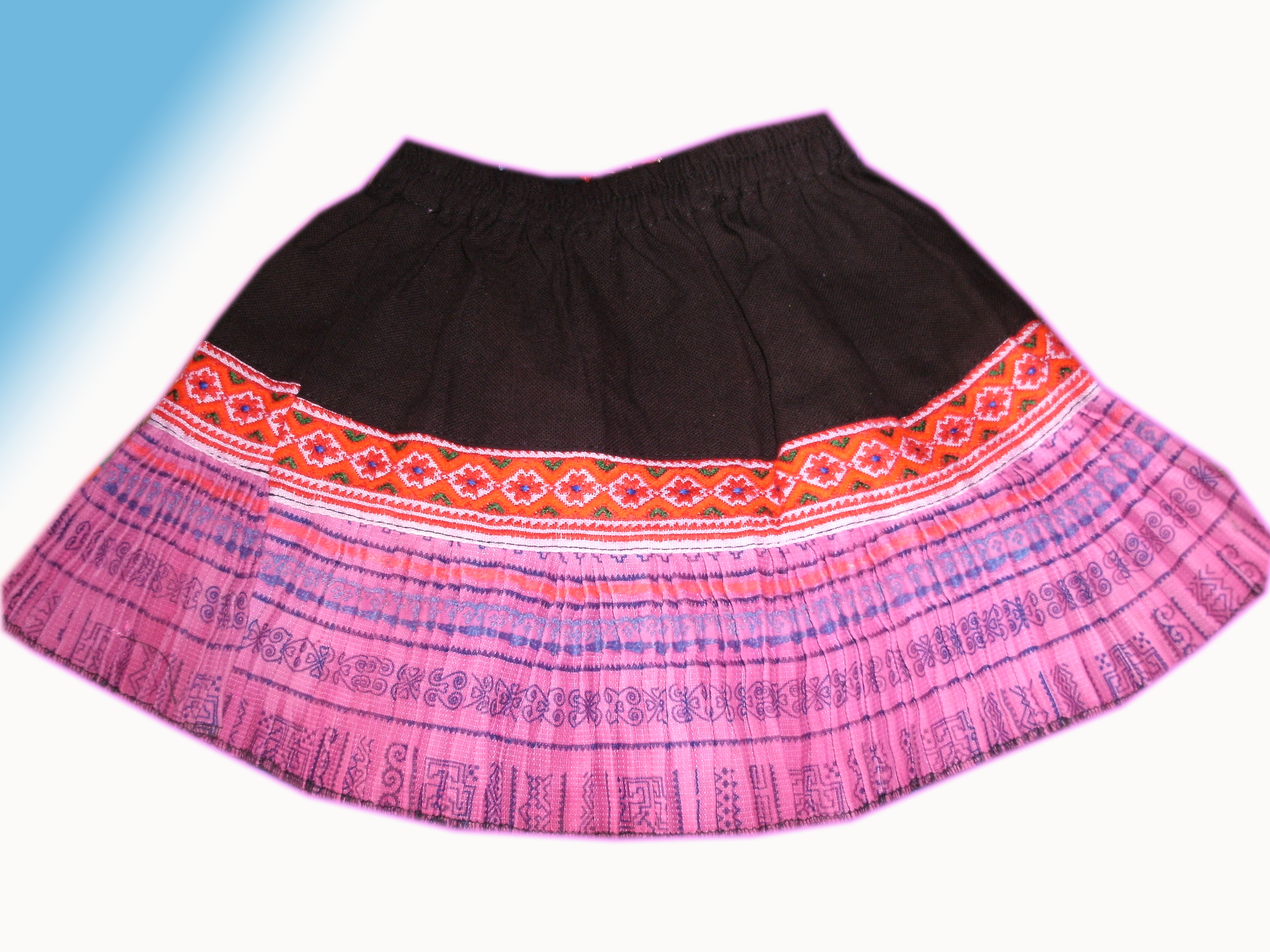 Tribal Girls Skirt-28
