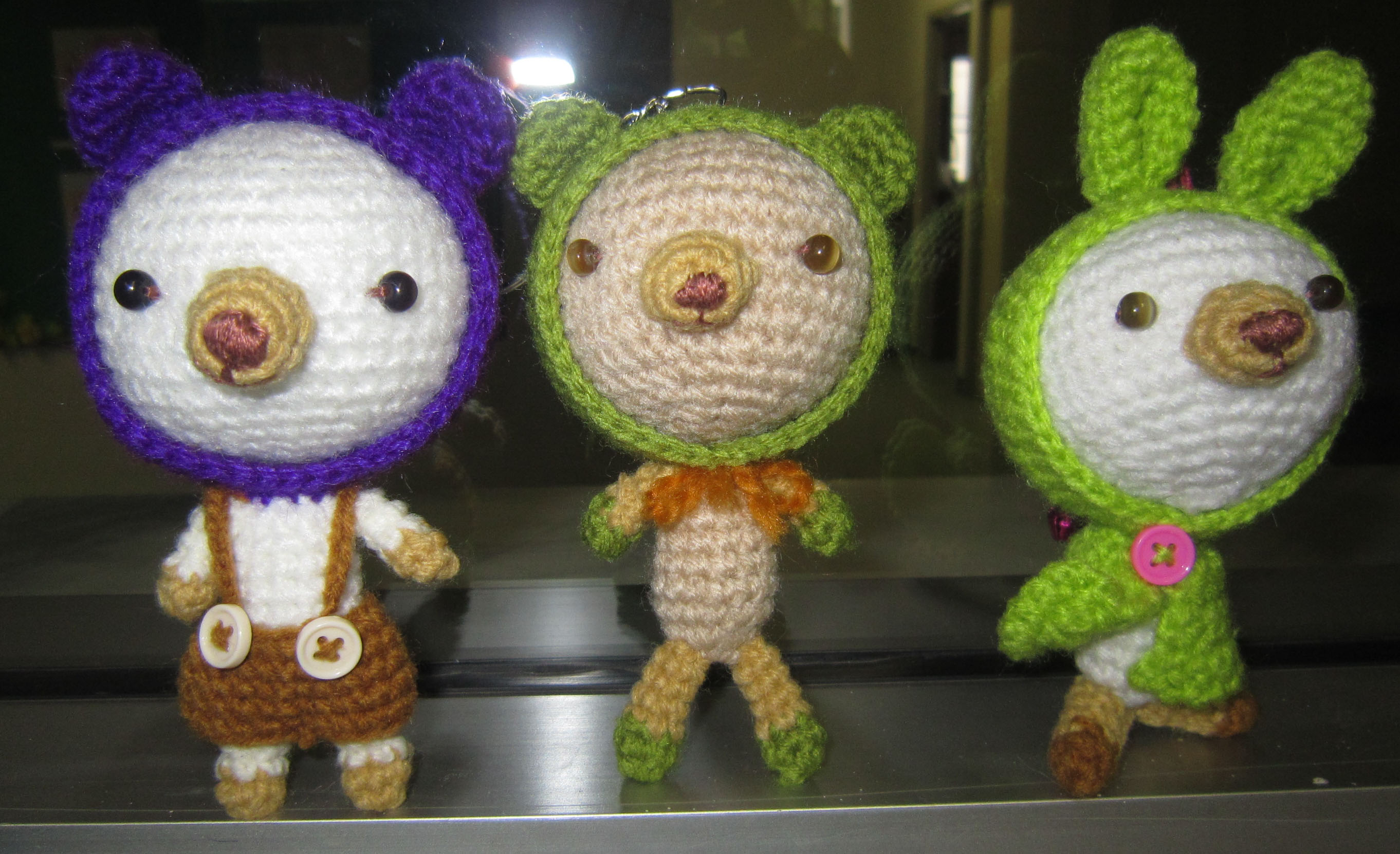 Crochet Doll Keyring-IMG_3572