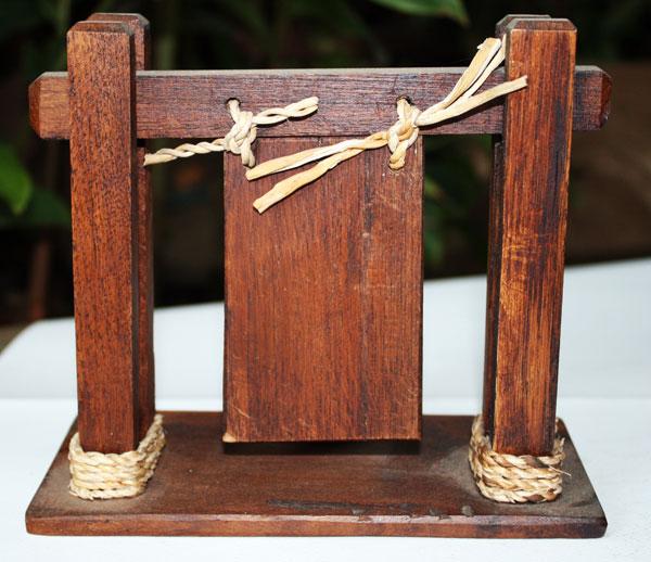 Wood candle holder-HC-050.2
