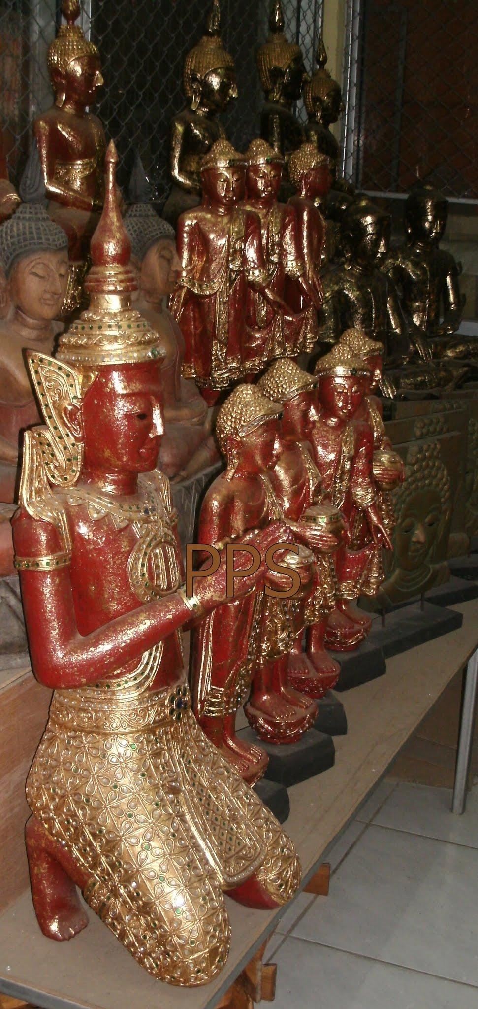 Wood Buddha Image C4491