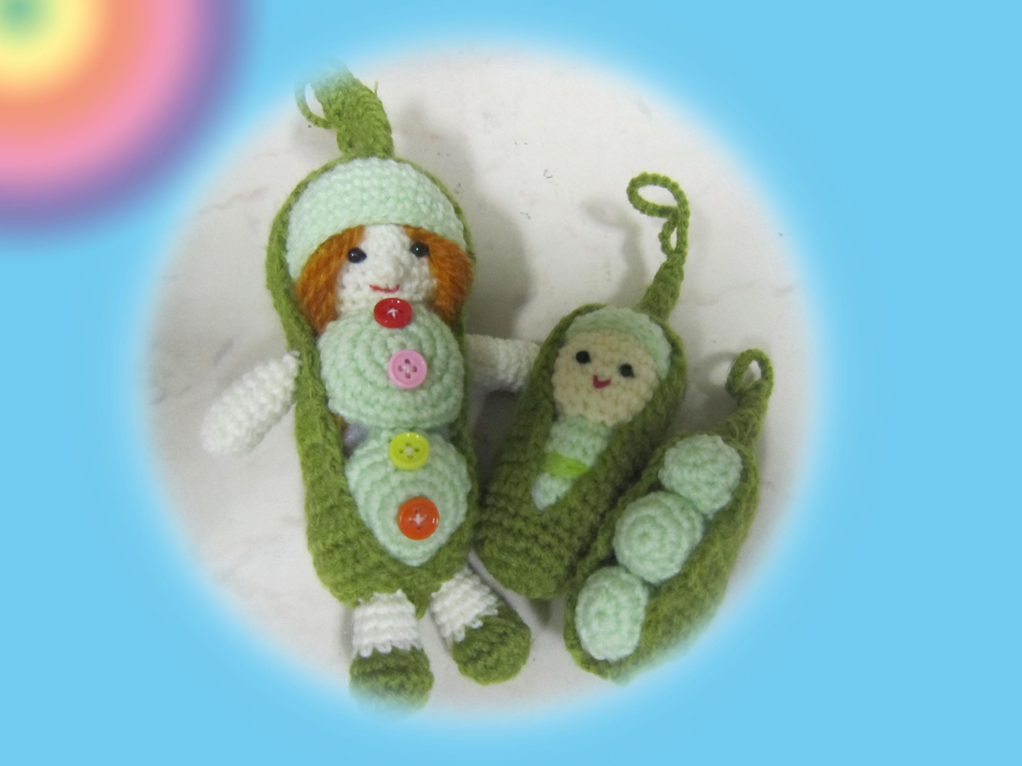 Crochet Doll Keyring-IMG_3570