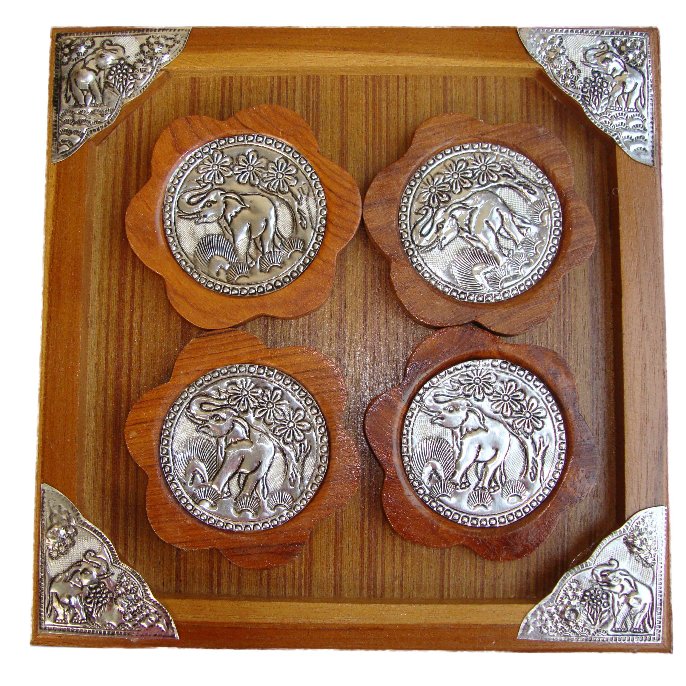 Wood saucers2300502