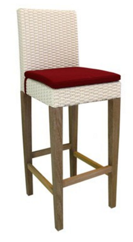 PS-Rattan Stool 17- SL17