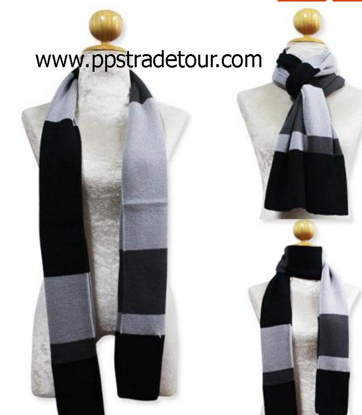Knitting Wool Men Scarves-PS-SCF20